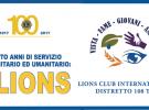 """""""100 ANNI DI SERVIZIO COMUNITARIO E UMANITARIO: I LIONS"""""""